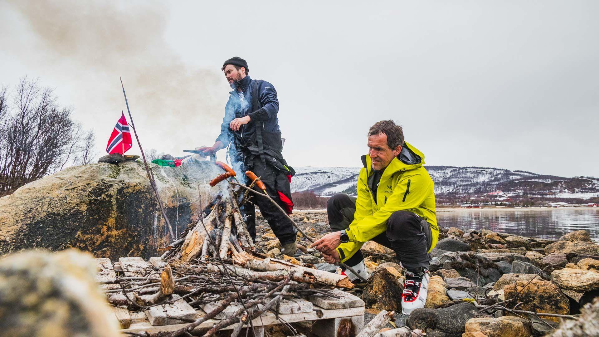 Skitouren Am Norwegischen Nationalfeiertag