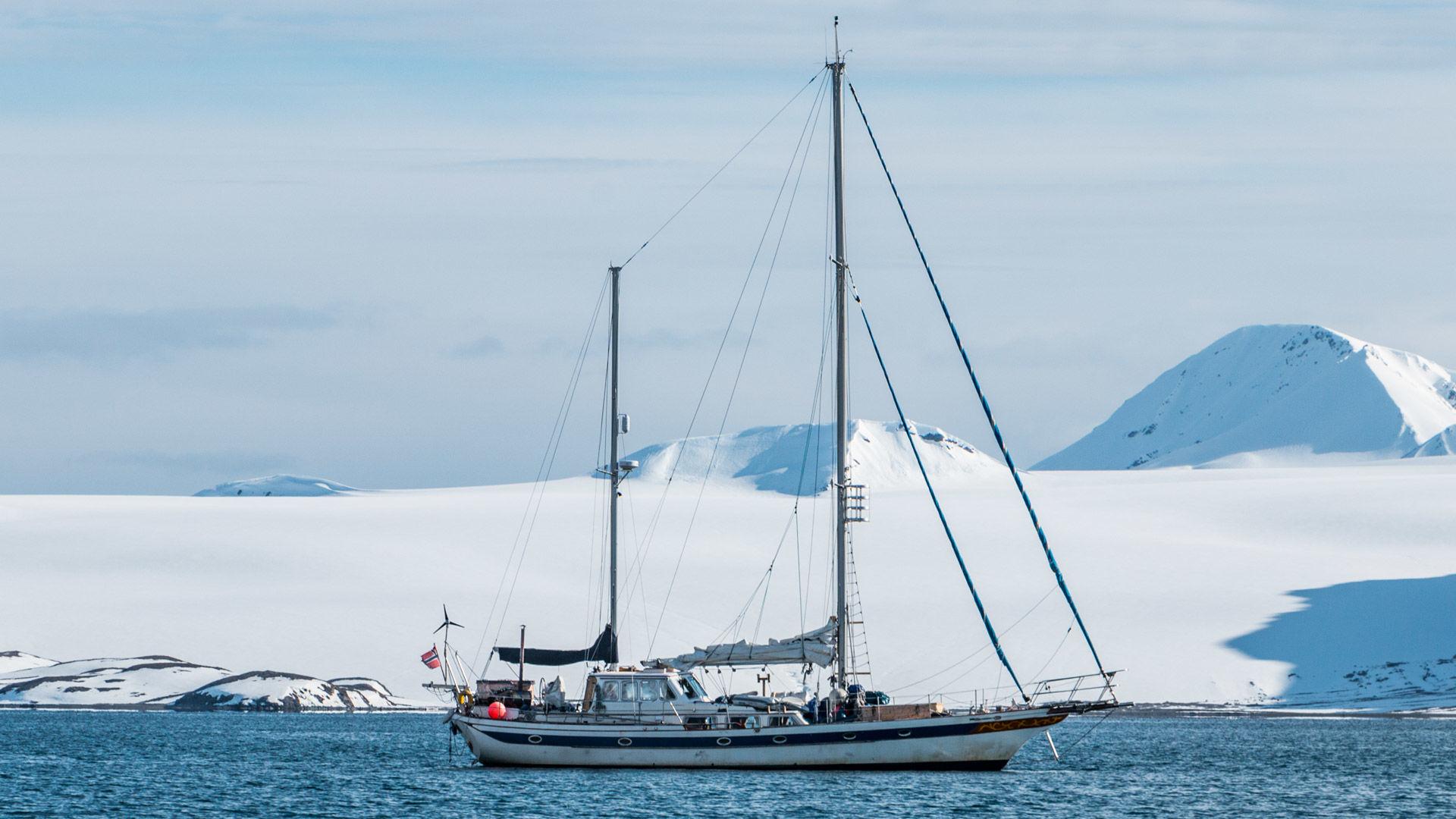 Skitouren Vom Segelschiff